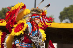 Native pow wow south dakota Royalty Free Stock Images