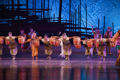 """Native products-Dance drama """"The Dream of Maritime Silk Road"""". Dance drama """"The Dream of Maritime Silk Road"""" centers on the plot of two royalty free stock images"""