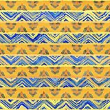 Native seamless watercolor artistic boho style colorful square p. Native watercolor artistic colorful pattern. Ethnic boho style. Seamless draw tribal square royalty free stock photography