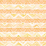 Native seamless watercolor artistic boho style colorful square pattern. Native watercolor artistic colorful pattern. Ethnic boho style. Seamless draw tribal Stock Image