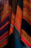 Native southamrican fabric Royalty Free Stock Images
