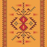 Native southwest american, indian, aztec, geometric seamless pat. Aztec geometric seamless pattern. Native american, indian southwest print. Ethnic design royalty free illustration