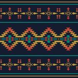 Native southwest american, indian, aztec, geometric seamless pat. Aztec geometric seamless pattern. Native southwest american, indian print. Ethnic design Royalty Free Stock Image