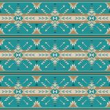 Native Southwest American, Indian, Aztec, Navajo seamless patter. Ethnic seamless pattern. Native Southwest American, Indian, Aztec textiles. Navajo print stock illustration