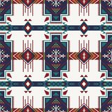 Native Southwest American, Indian, Aztec, Navajo seamless patter. Aztec geometric seamless pattern. Native Southwest American, Indian print. Ethnic design vector illustration