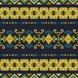 Native Southwest American, Indian, Aztec, Navajo seamless pattern. Geometric design. Aztec geometric seamless patterns. Native American, Indian Southwest print royalty free illustration