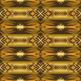 Native Southwest American, Indian, Aztec, Navajo seamless pattern. Geometric design vector illustration