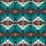 Native Southwest American, Indian, Aztec, Navajo seamless pattern. Geometric design