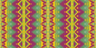 Native Southwest American, Indian, Aztec, Navajo seamless pattern. Geometric design. Aztec geometric seamless pattern. Native American, Indian Southwest print royalty free illustration