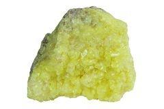 Native sulphur Stock Photo