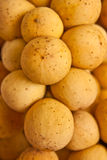 Native Thai fruit, Long-gong Stock Photo