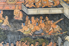 Native Thai mural Stock Images