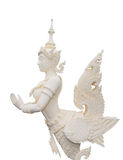Native Thai style angel statue Royalty Free Stock Photography