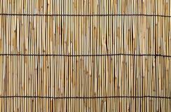 Native Thai style bamboo on background Stock Photo