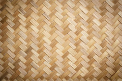 Native Thai style bamboo pattern Stock Image