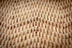 Native Thai style bamboo wall Royalty Free Stock Images