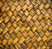 Native Thai style bamboo wall Royalty Free Stock Photos