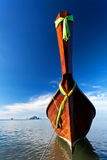 Native Thai style boat Royalty Free Stock Photo