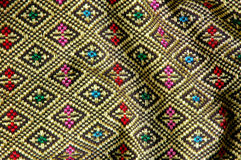 Native thai style cloth Royalty Free Stock Photo