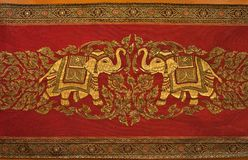 Native Thai style cloth pattern Stock Images