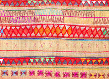 Native Thai style cloth pattern Stock Photo