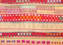 Native Thai style cloth pattern Stock Photo
