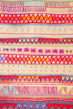 Native Thai style cloth pattern Royalty Free Stock Photos