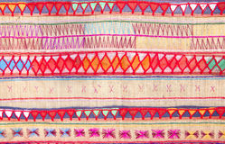 Native Thai style cloth pattern Stock Photos