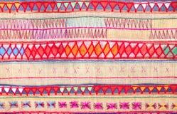 Native Thai style cloth pattern Stock Photos