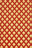 Native Thai style flower pattern Royalty Free Stock Images