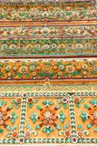 Native Thai style flower pattern Stock Image