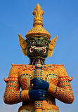 Native Thai style giant statue Royalty Free Stock Photography