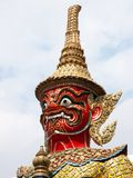 Native Thai style giant statues Royalty Free Stock Images