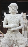 Native Thai style giant statues.  royalty free stock photography
