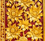 Native thai style wooden art Royalty Free Stock Photo