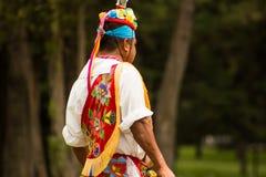 Native tribe mexican voladores de papantla Royalty Free Stock Photos