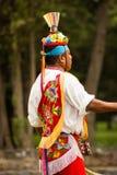 Native tribe mexican voladores de papantla Stock Photo