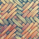 Native Weave bamboo wall. Native Thai style bamboo wall Stock Photo