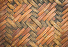 Native Weave bamboo wall Royalty Free Stock Photos