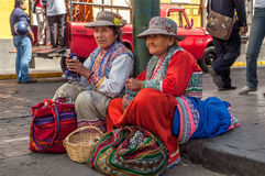 Native Woman from Arequipa Royalty Free Stock Images