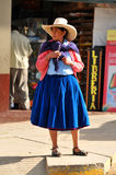 Native Woman In Northern Peru Royalty Free Stock Photography