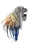Nativeleon. King of animals on world Stock Image