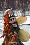 Nativi Fotografia Stock