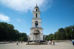 Natividad de Lord Cathedral, Chisinau Imagenes de archivo