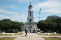 Natividad de Lord Cathedral, Chisinau Imagen de archivo libre de regalías