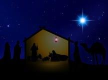 Natividade 3 Ilustração Stock