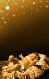 Natividade - bebê Jesus Fotografia de Stock Royalty Free