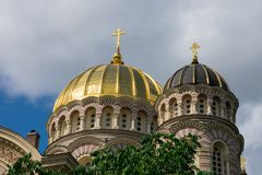 A natividade da catedral de Cristo Imagens de Stock