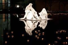 Natividade na água Imagens de Stock