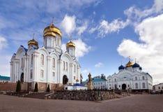 Natività del monastero vergine Zadonsk La Russia Immagine Stock Libera da Diritti